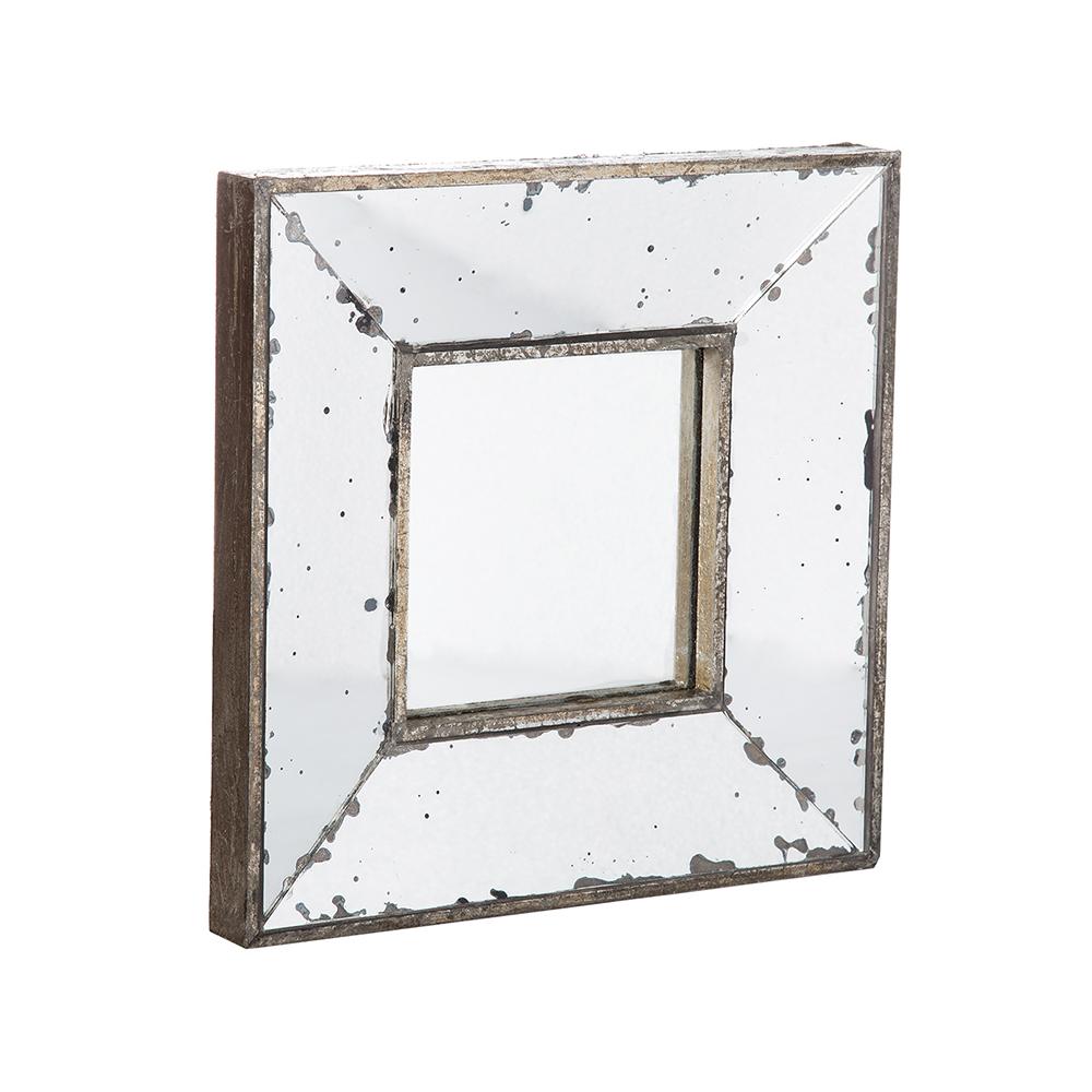Espejo cuadrado 30 x 30 taller de las indias for Espejo cuadrado sin marco