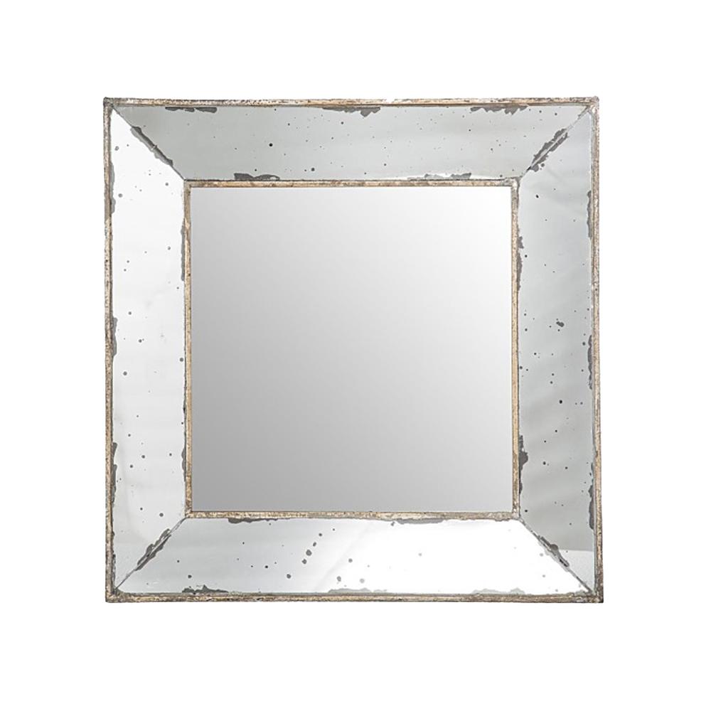 Espejo cuadrado 46 x 46 taller de las indias for Espejos cuadrados